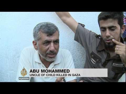 Children killed in Gaza playground shelling