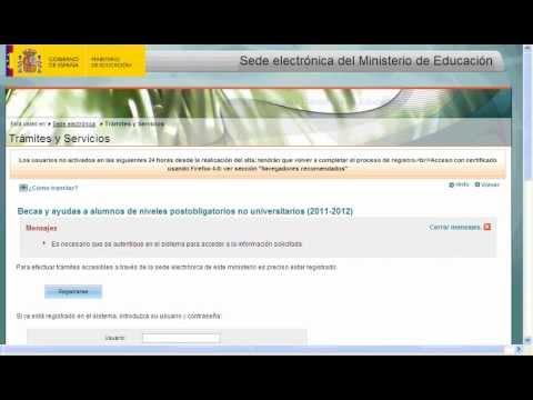Sede electrónica: Instrucciones para registrarse