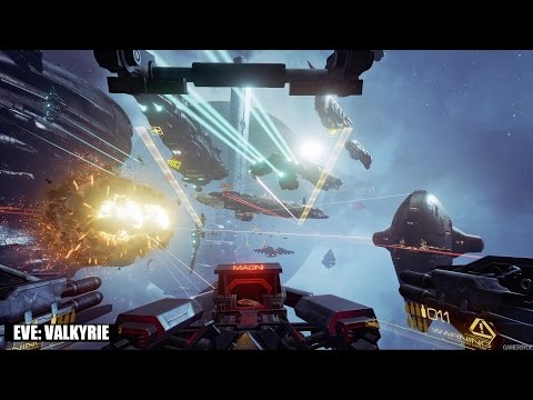 EVE Valkyrie | PlayStation VR/Oculus Rift | Fanfest 2015 Trailer | PS4/PC