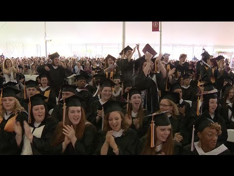 Dean College Presents: The Commencement Experience 2014
