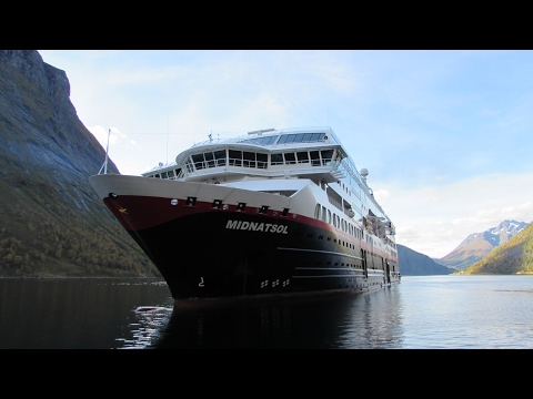 MS Midnatsol | Schiffsrundgang | Cruise ship tour | Hurtigruten