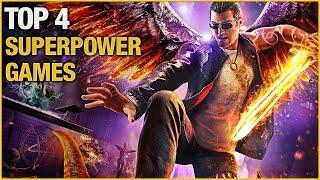 Top 4 Best Superpower Games
