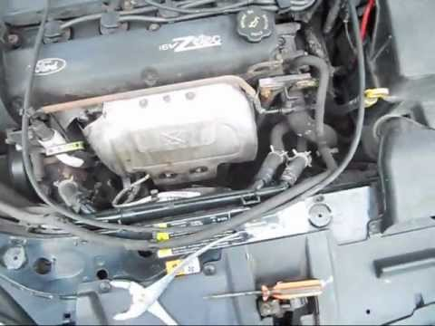 2000 Ford Focus ZTS heater hose outlet Pipe Replacement