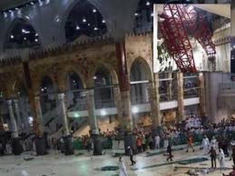 Mecca crane collapse | updatelatestnews