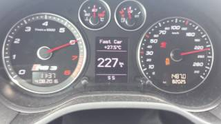 Audi RS3 8P 2.5 TFSI 0-290 km/h Chip tuning Dresden