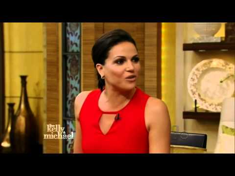 Live with Kelly and Michael - Lana Parrilla