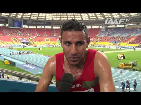 IAAF World Championships Moscow 2013 Russia 10 AUG 2013 - 18 AUG 2013 Moscow 2013 - Hamid EZZINE MAR - 3000 Steeplechase Men - Heat 3.