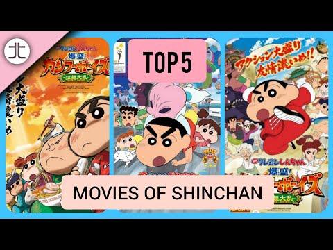 TOP 5 MOVIES OF SHINCHAN (HINDI) ||TOON TALK||