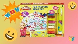 Khám phá bộ đất sét Play-doh - Fun Factory Mega Set có gì bên trong?