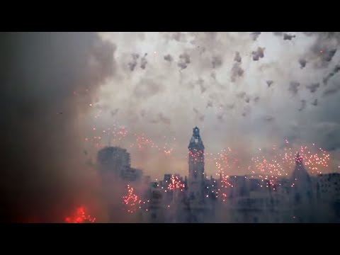 The Best Mascleta EVER - The FINALE = SICK! Fallas 2018 March 3rd!