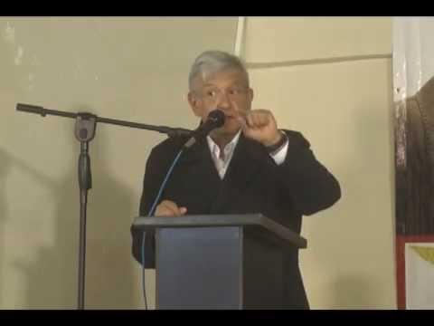 14 de Enero visita a San Luis Rio Colorado Andres Manuel Lopez Obrador