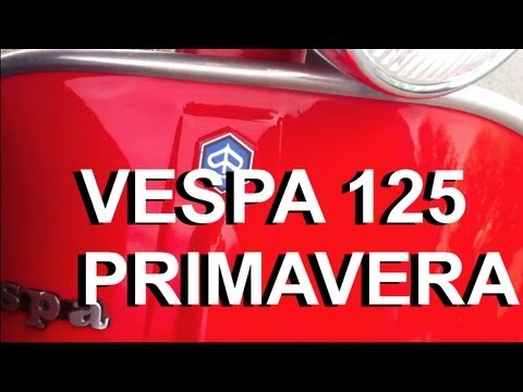 Vespa 125 Primavera - Overview Walk Around