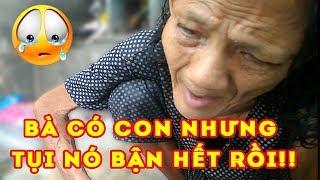 [Người sài gòn] Xót xa Bà cụ 60 tuổi bị mù ngồi ở góc đường 😭Lê Đức Thọ Gò Vấp  Lovely Saigon