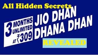 Jio Dhan Dhana Dhan Offer  | Hidden Secrets Revealed | All questions Answered