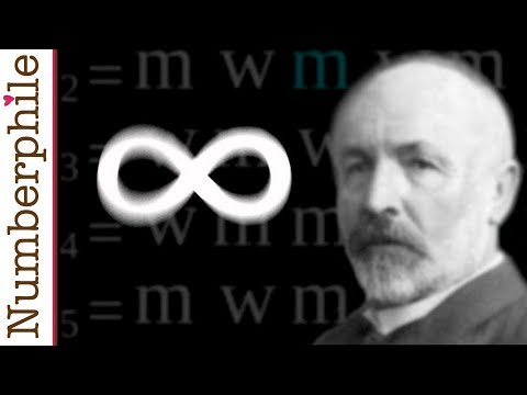 Infinity is bigger than you think - Numberphile Music Videos