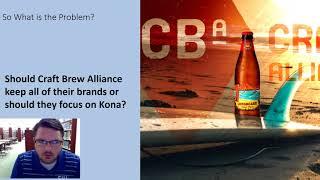 Craft Brew Alliance Presentation   Cory Stabler