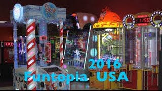 New York Funtopia USA, Bumper Cars, Games and Mickey's Wizard Hat HD