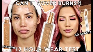 WORTH THE WAIT? URBAN DECAY STAY NAKED FOUNDATION + CONCEALER | 12 HR WEAR TEST REVIEW