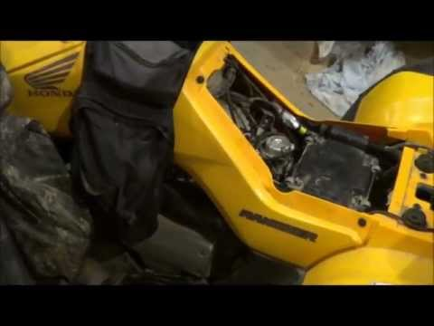 2005 Honda Rancher Fourtracks TRX350TM Electric Starter Motor Problem