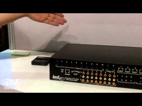 CEDIA 2014: Leaf Connect Unveils New Leaf Ultra Series 4K Matrix Switchers With HDCP 2.2