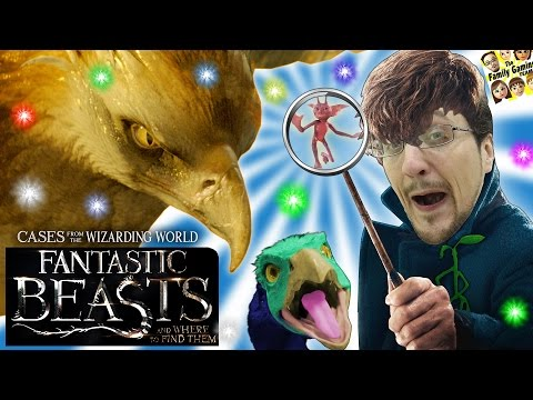 FANTASTIC BEASTS Game w/ INVESTIGATOR FGTEEV DUDDY! Where To Find Them Clues in Harry Potter World