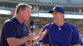 PHI@LAD: Utley on facing Phillies for the first time