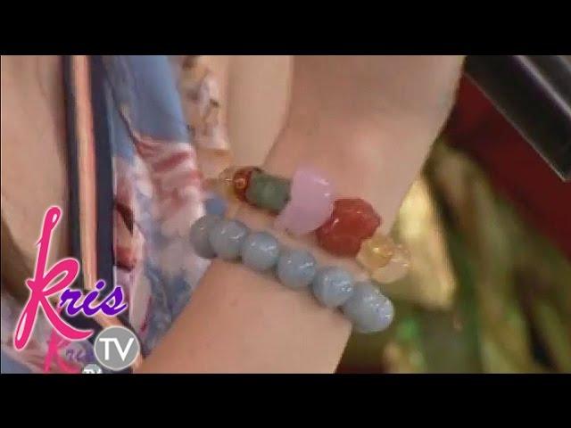 Kris TV: Carmina and Jay R's lucky charms