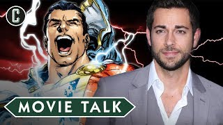 Shazam! To Star Zachary Levi - Movie Talk