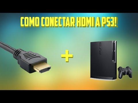 Como conectar hdmi a ps3!