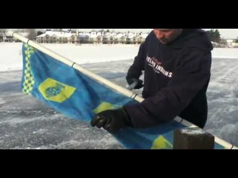 How To Zamboni Your Backyard Ice Rink Homemade Zamboni