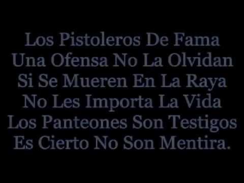 Los Cadetes De Linares - Pistoleros Famosos (+Letra) [Pistoleros Famosos] HD