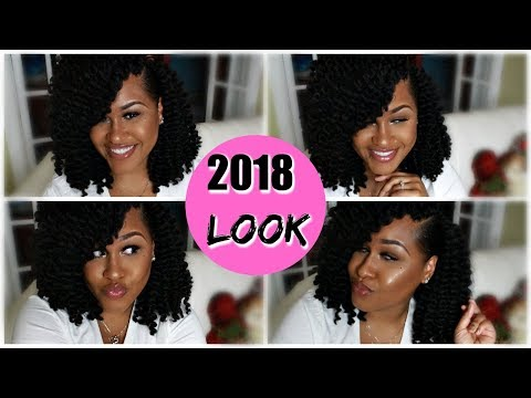 2018 Look| Senegalese Crochet Twists Review, Styling and Tutorial | Samsbeauty.com
