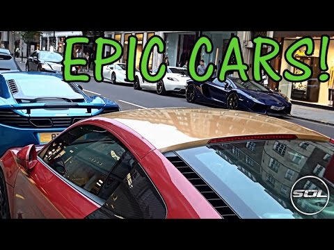 ARAB Supercars Hit London: My Supercar Vlog