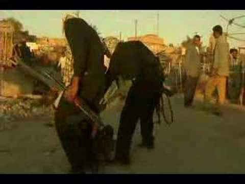 Mahdi Army issue street justice to a few beer sellers in Iraq. Alcoholic beverages are forbidden in Islam.