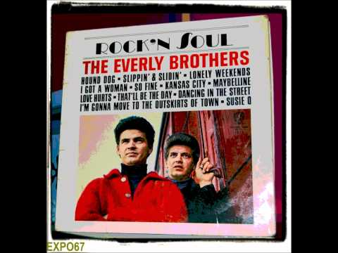 Everly Brothers - Lonely Weekends