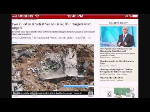 BREAKING NEWS - Israeli Air Force In Action After 10 Missiles From Gaza