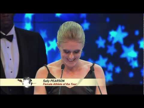 IAF GALA 2011 - IAAF President Lamine DIACK - Usain BOLT - Sally PEARSON