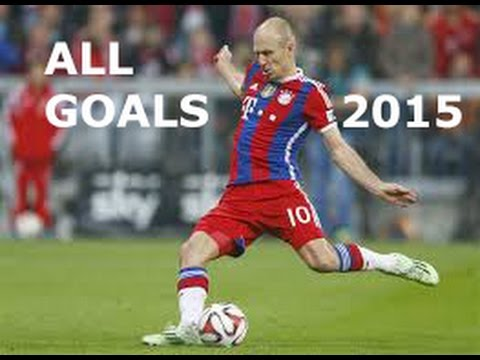 Arjen Robben - All Goals in 2014-2015 HD