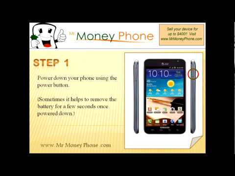 HARD RESET Samsung Galaxy S Note SGH-i717 (external) Master Reset (RESTORE to FACTORY)
