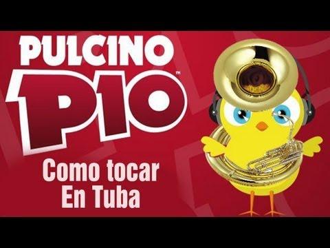 PULCINO PIO | Como tocar El Pollito Pio en TUBA | Video Official