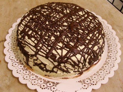 Чем украсить торт фото рецепт