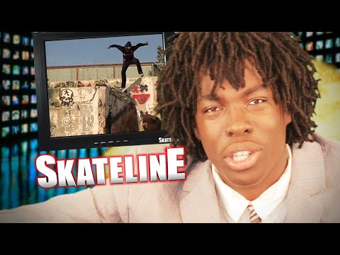 Skateline - Dgk Blood Money, Jake Johnson, Nyjah Huston, Beni Blunt Fingerflip And More... video