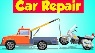 Tow Truck Garage   Police Bike   Police Vehicle   Car Repair