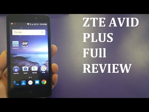 ZTE AVID PLUS Full Review For Metro Pcs\T-mobile