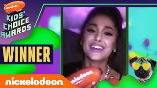 "Ariana Grande & thank u, next WIN ""Favorite Female Artist & Song""  