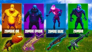 The Zombie Challenge , Loot Aléatoires ! Fortnite