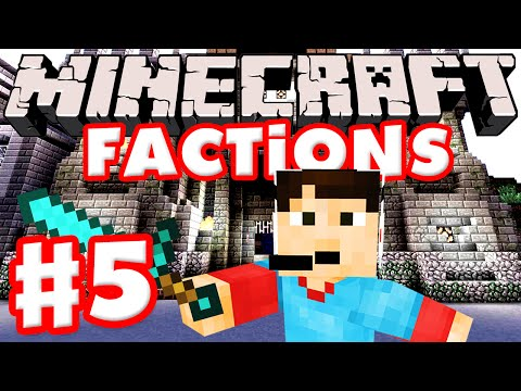 Minecraft Factions Part 5 - Base Moved! (Scottland Studios Public Minecraft Factions Server)