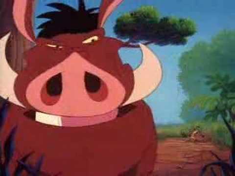 Timon and Pumbaa - Yummy yummy yummy HD (English)