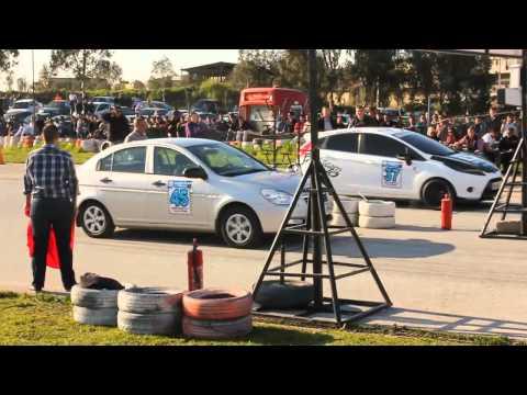Hyundai Accent Era CRDi vs Ford Fiesta TDCi Drag