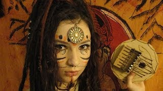 Tribal make-up / Maquillage tribal